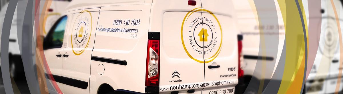 Northampton Partnership Homes Van