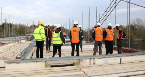 Scheme underway at Overslade House