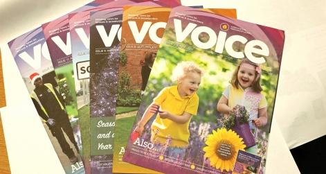Voice newsletter